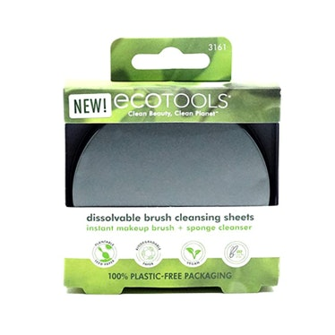 Ecotools Dissolvable Make Up Brush Cleaning Sheets (30-Pack)