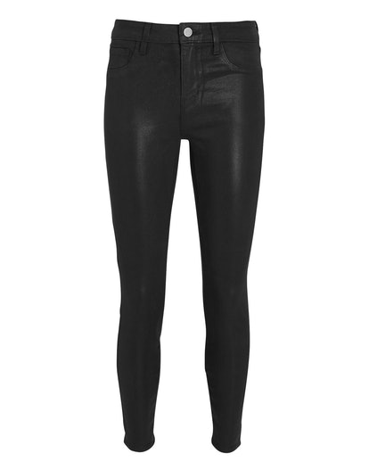 Margot Coated Skinny Jeans