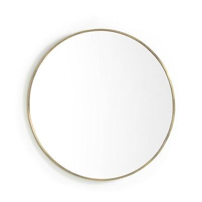 Caligone Aged Brass Metal Mirror