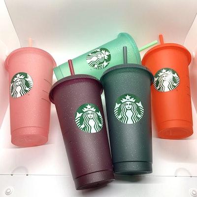 Starbucks 2020 Glitter Cold Cups