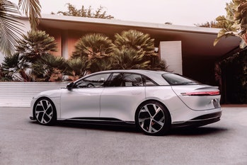 The Lucid Air.