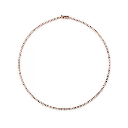 Diamond Tennis Twiggy Necklace