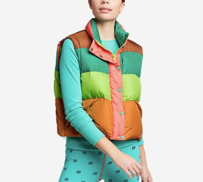 Cropped Puffer Vest