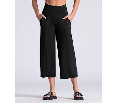 THE GYM PEOPLE Bootleg Yoga Capri Pants
