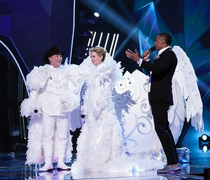 Clint and Lisa Hartman Black as Snow Owls on 'The Masked Singer' Season 4