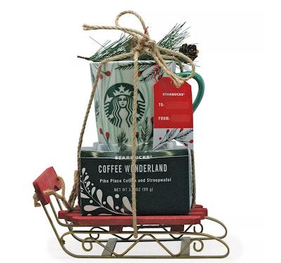 Starbucks Sleigh Coffee and Cookies Gift Set