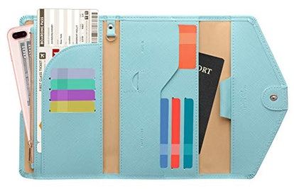 Zoppen Multi-purpose Rfid Blocking Travel Passport Wallet