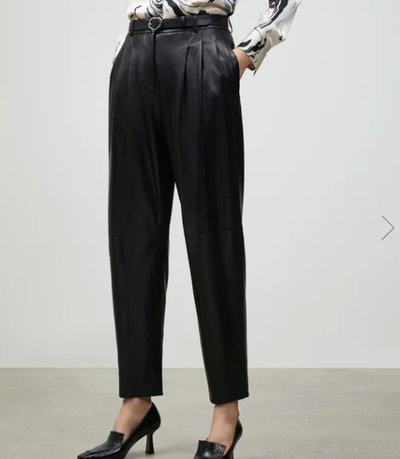 SUPPLE NAPPA LEATHER VESTRY PANT