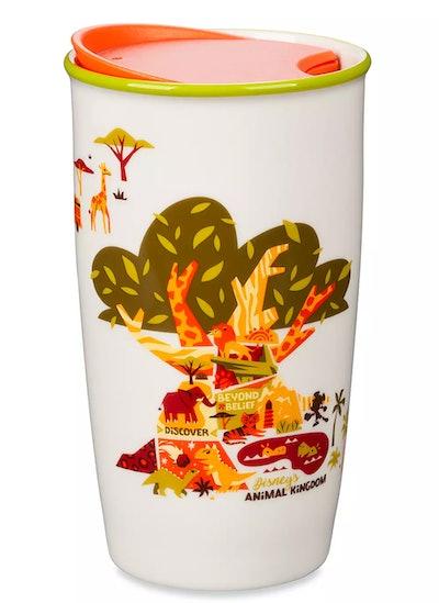 Animal Kingdom Starbucks Ceramic Travel Tumbler