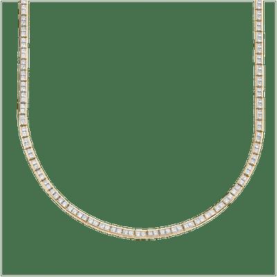 Diamond Perfect Princess Eternity Necklace