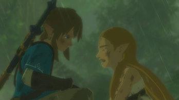 nintendo switch the legend of zelda breath of the wild video game