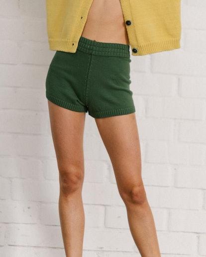 Nice Knit Short Emerald