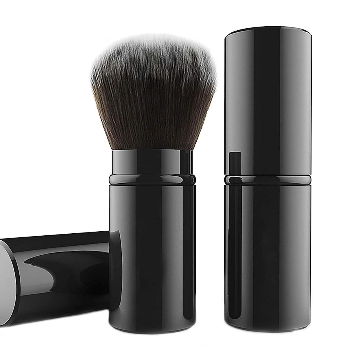 Falliny Retractable Kabuki Makeup Brush
