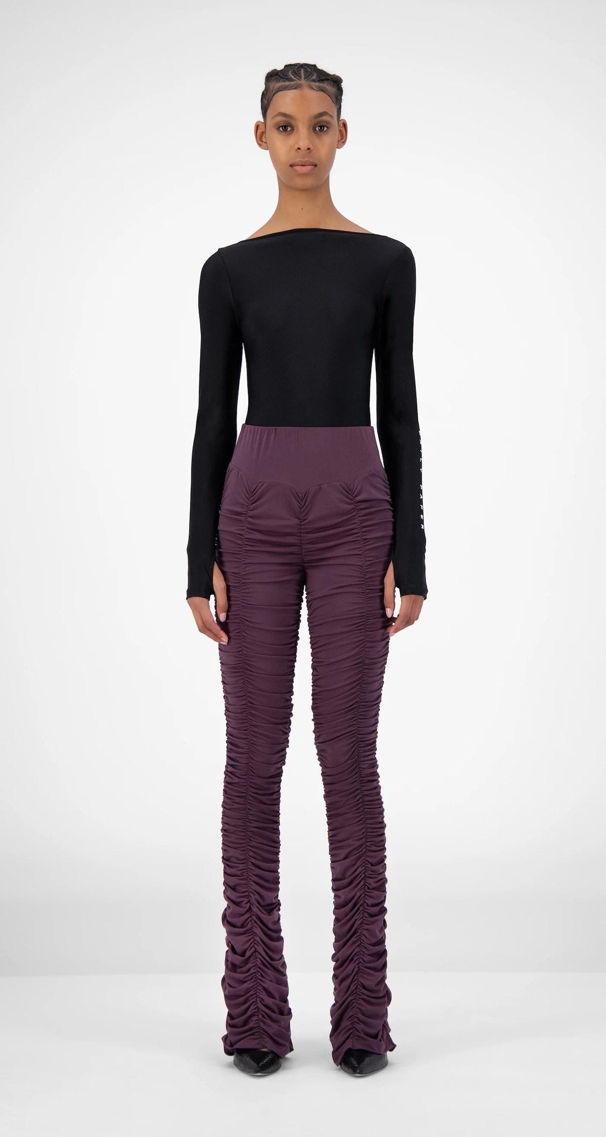 Purple Jaanai Pants