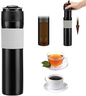 ALLOMN Travel Coffee Press Mug