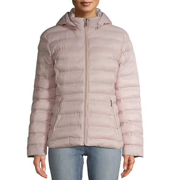 Packable Puffer Jacket with Hood