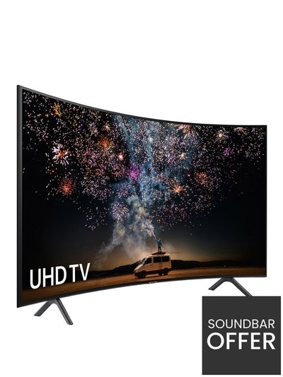 49 inch, Curved Ultra HD, 4K Certified HDR Smart TV
