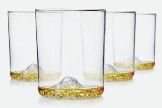 Huckberry Whiskey Peak Glasses