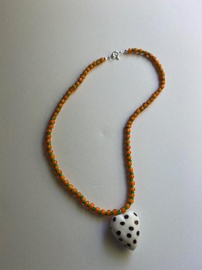 Polka Heart Necklace