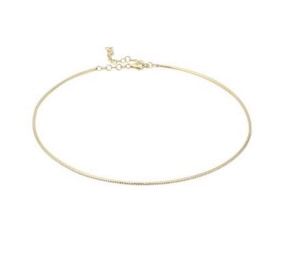 Jewelry 14K Diamond Choker