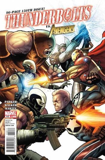 thunderbolts x-men avengers marvel