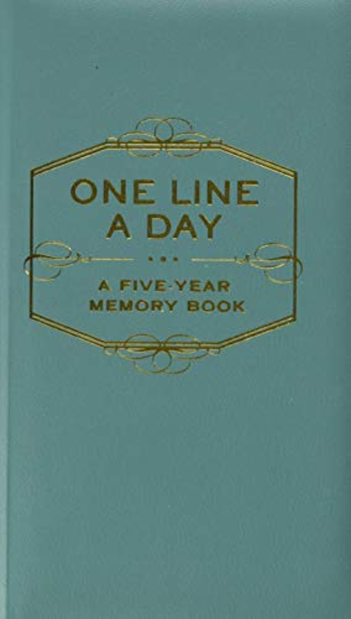 One Line A Day: A Five-Year Memory Book (5 Year Journal, Daily Journal
