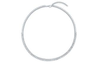 Diamond Pretty Lady Eternity Necklace
