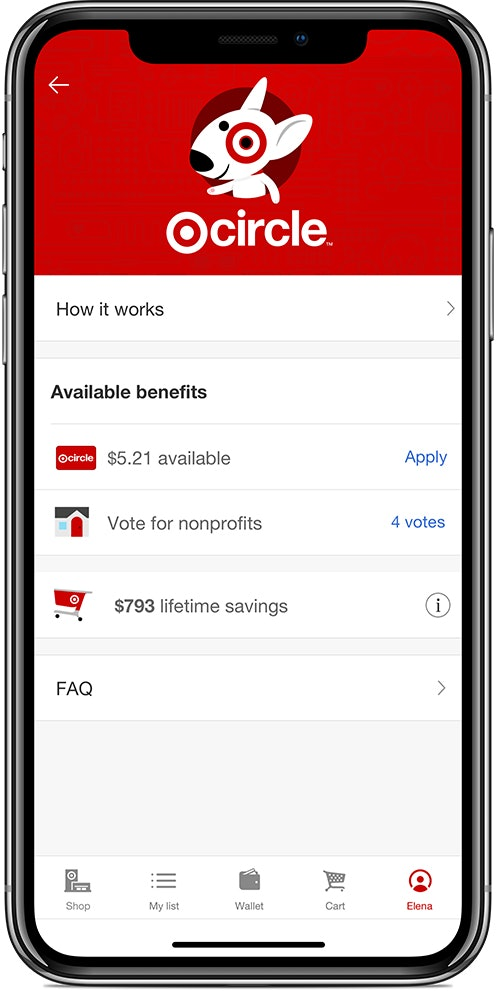 Use Target Circle to save money while shopping online.