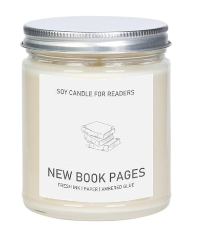New Book Pages-scented Candle