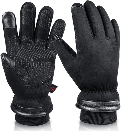 OZERO Waterproof Winter Touchscreen Gloves
