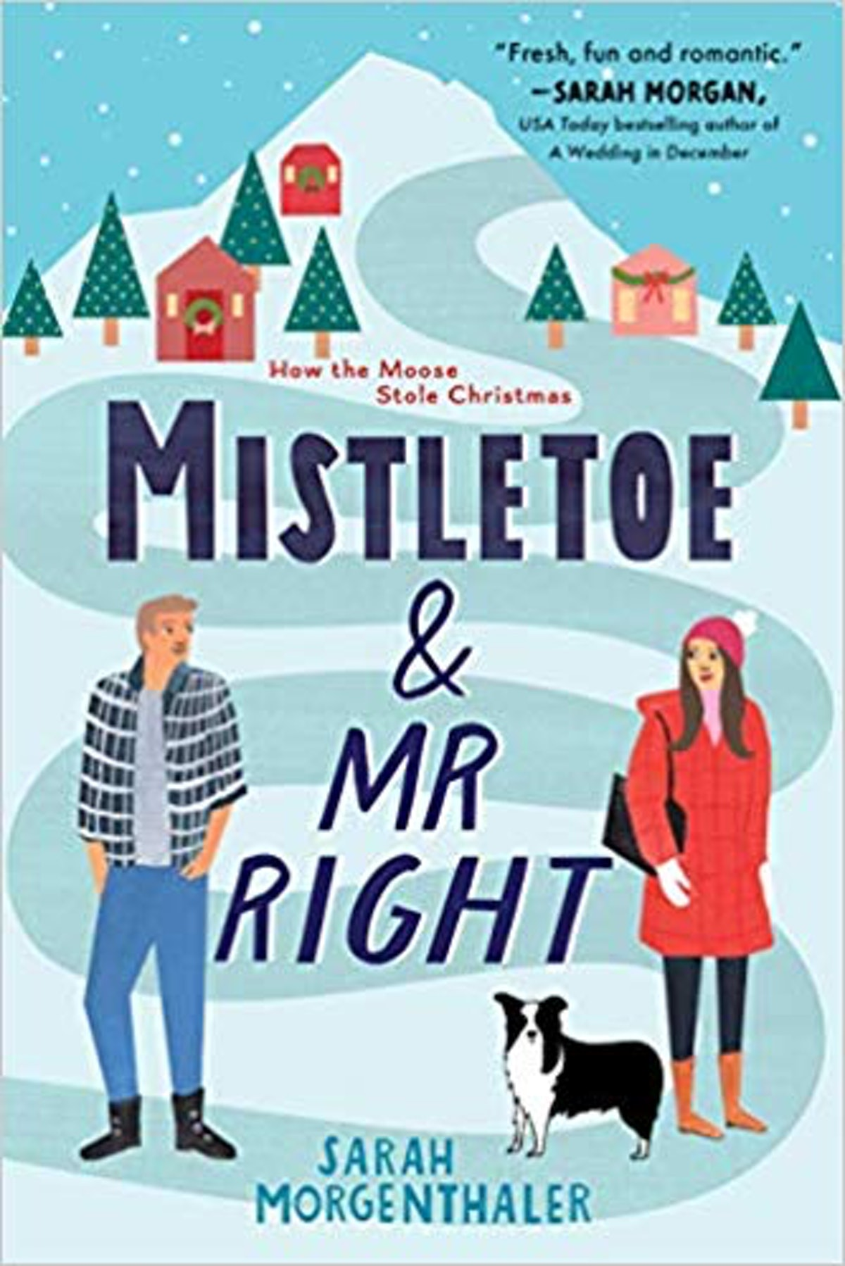 'Mistletoe and Mr. Right' by Sarah Morgenthaler