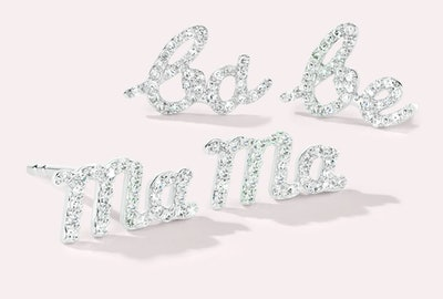 Mama & Babe Diamond Studs Set