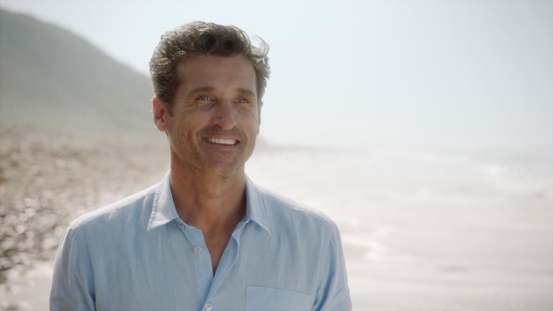 Patrick Dempsey as Derek Shepherd in the 'Grey's Anatomy' Season 17 premiere.