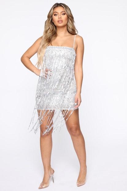 Viva Las Vegas Sequin Mini Dress