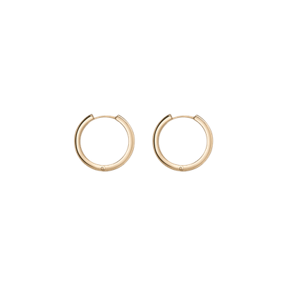 Lioness Gold Hoop Earrings
