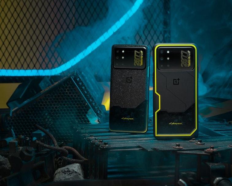 'Cyberpunk 2077' OnePlus 8T smartphone