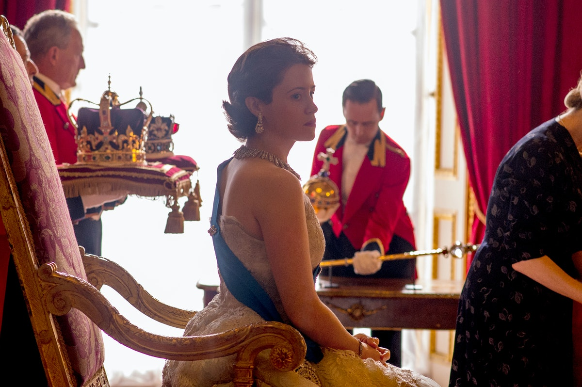 Claire Foy as Young Queen Elizabeth II in Netflix's 'The Crown' Season 1