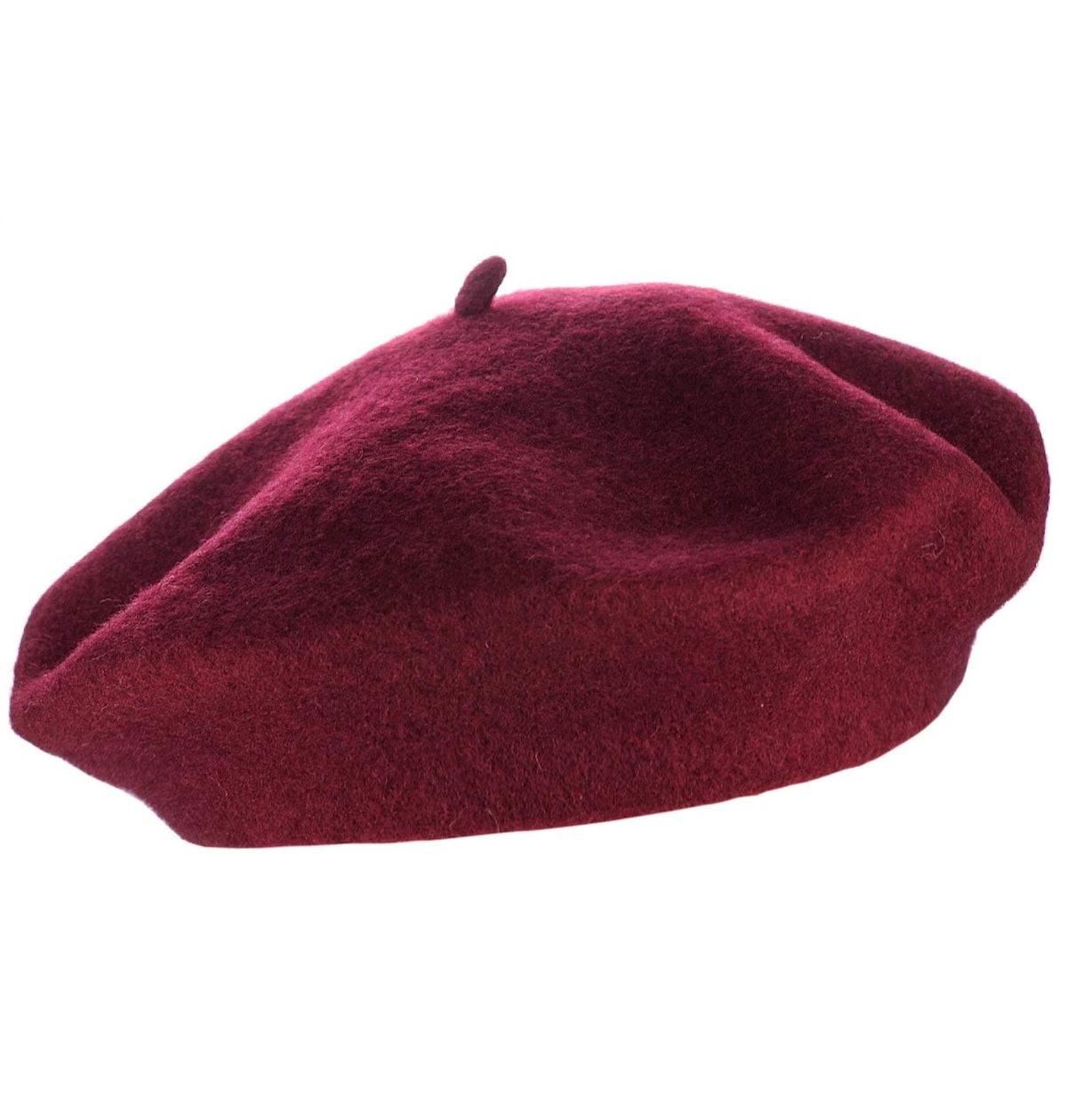 NYFASHION101 Classic Wool Beret