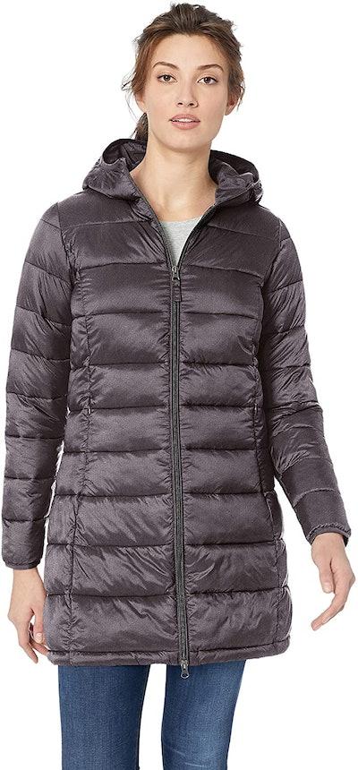 Amazon Essentials Women's Lightweight Hooded Puffer Jacket