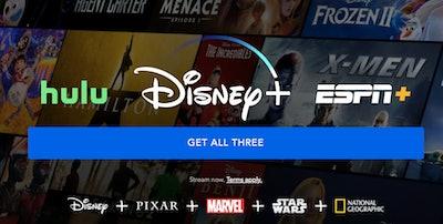 Disney+, Hulu, and ESPN Subscription Bundle