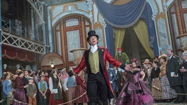 "Hugh Jackson stars as P.T. Barnum in ""The Greatest Showman."""