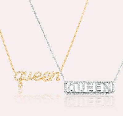 Queen Diamond Necklace Set