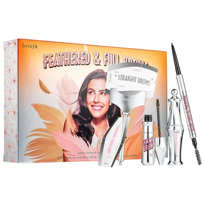Benefit Cosmetics Feathered & Full Brow Set