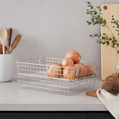 Muji Wire Baskets (Set of 2)