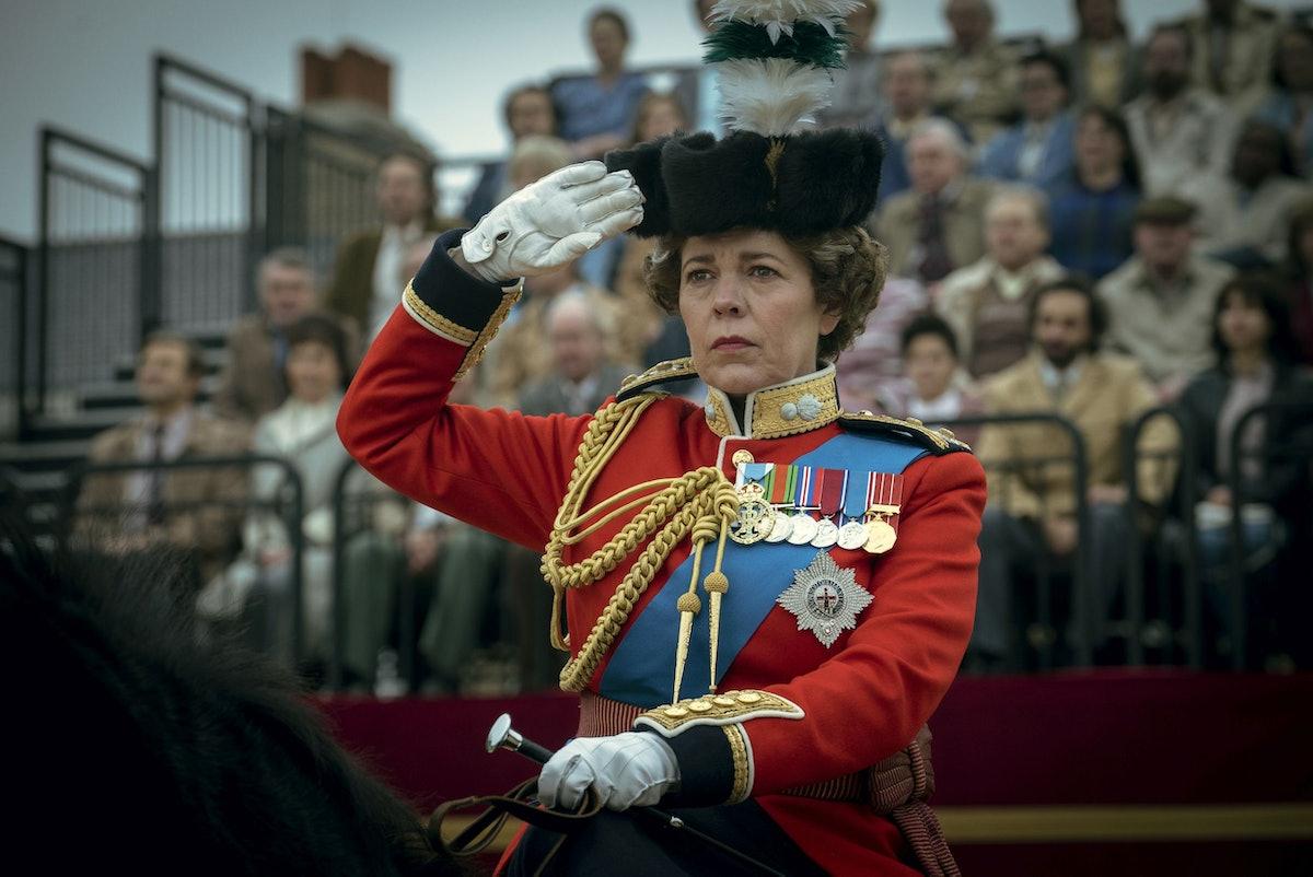 Olivia Colman as Middle Aged Queen Elizabeth II in Netflix's 'The Crown'  Season 4