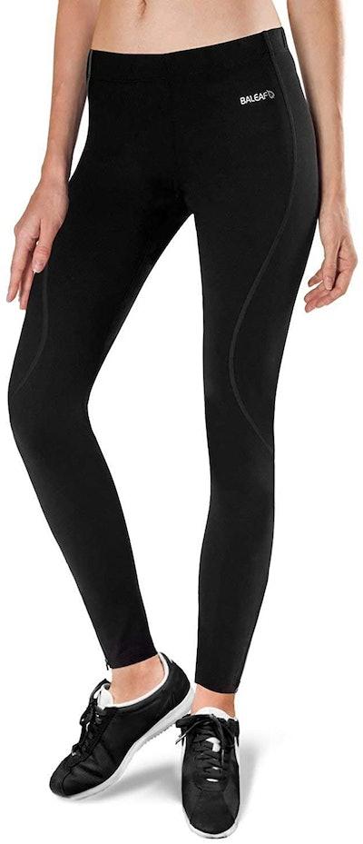 BALEAF Women's Thermal Fleece Running Leggings