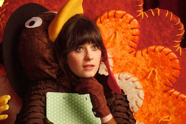 These 'New Girl' Thanksgiving Zoom backgrounds feature iconic moments from the show.
