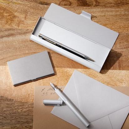 Muji Aluminum Office Accessories