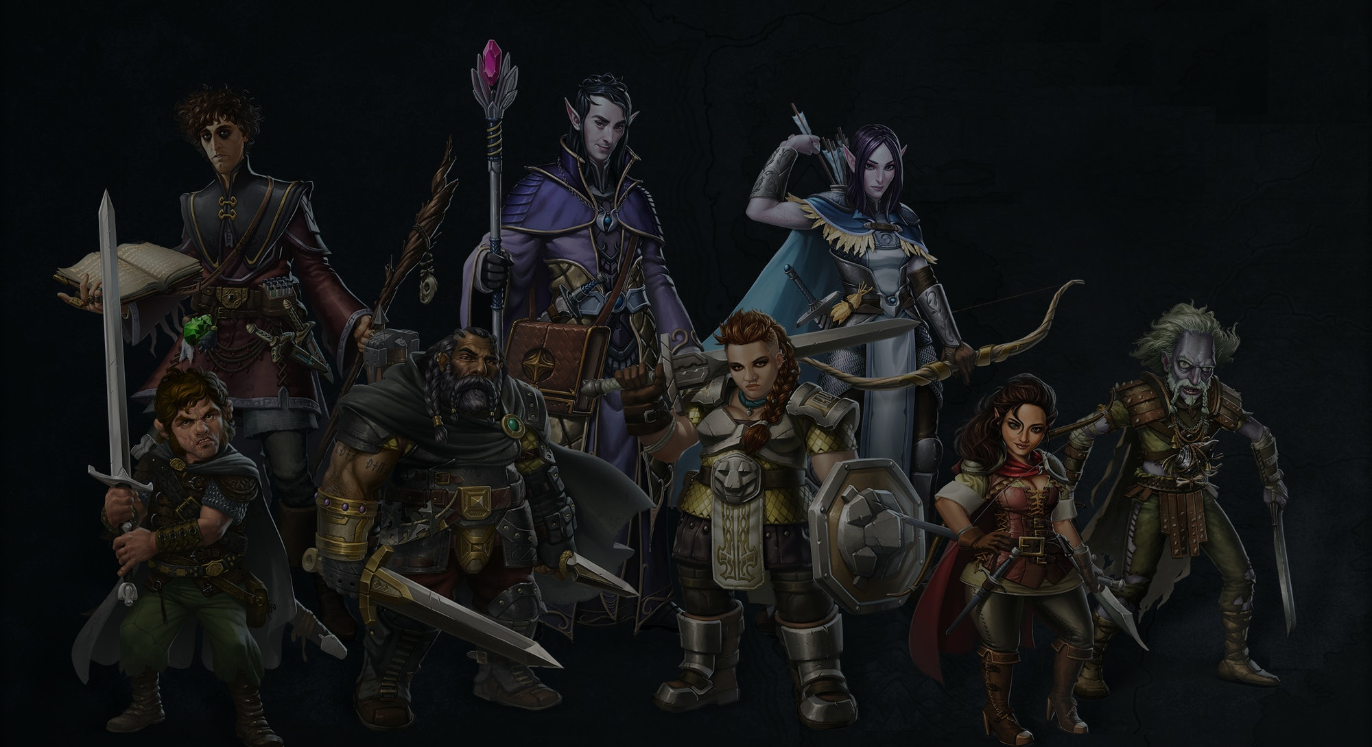 sword coast legends allies D&D