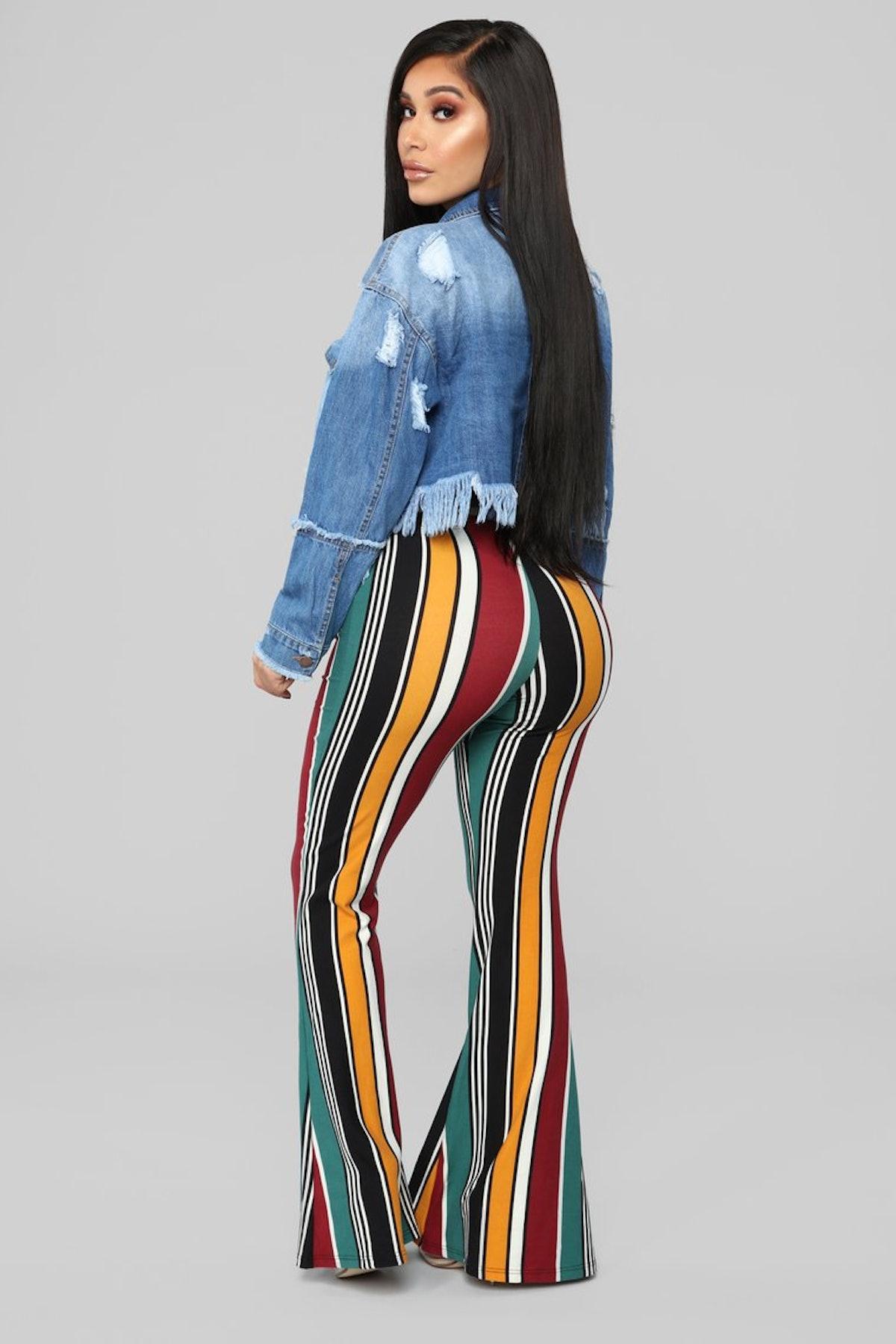 Trisha Striped Pants
